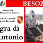 Domenica 19 gennaio 2020 la festa di S. Antonio a Besozzo
