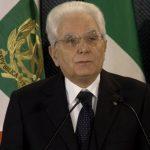 Messaggio di fine anno 2020 del Presidente della Repubblica Sergio Mattarella