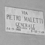 Via la targa a Maletti a Cocquio?