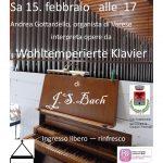 Concerto organo Sabato 15 febbraio ore 17.00 Chiesa di S. Giovanni Caldana