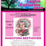 Sabato 18 Luglio – ore 20,30 al parco comunale di Cuvio – Maratona Beethoven