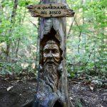 Video e foto delle sculture a Cerro di Cocquio Trevisago
