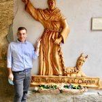 Dalle ricerche di Don Fabio presumibilmente dovrebbe proprio trattarsi di San Bernardo di Clairvaux (Chiaravalle).