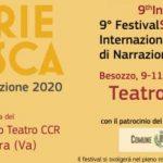 9° festival di narrazione in programma a Besozzo al Teatro Duse 9-11 ottobre 2020