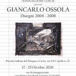 Giancarlo Ossola -Disegni 2004 ~ 2008 alla Piccola Galleria del Disegno a Cuvio
