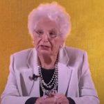 Per la Giornata della Memoria 2021 questi memorabili 5 minuti di Liliana Segre