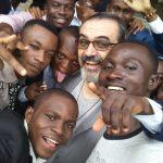 Don Maurizio Canclini, besozzese sacerdote diocesano in missione nella Repubblica democratica del Congo.
