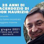 Festa per i 25 anni di Sacerdozio di Don Maurizio Cantù