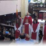 Domenica 6 giugno alla S. Messa delle ore 11.00 – Beatrice, Emma, Linda e Sara  – Nuovi chierichetti