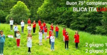 Buon 75° compleanno Repubblica Italiana dai  ragazzi del Piccolo Coro Valcuvia e Rosetum