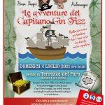 """""""Le avventure di Capitan Gin Fizz """"Domenica 4 luglio alle ore 20.30 presso la Terrazza del Faro a Besozzo"""
