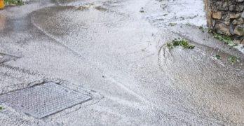 Il Varesotto colpito da un violento temporale – Tanta grandine _
