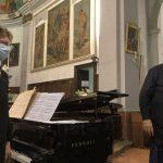 """Alcuni momenti del concerto """"Ricordando….Patrizia"""" parrocchia Santa Maria Assunta in Carnisio"""" 14 agosto 2021"""
