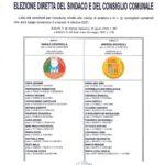 Comune di Cocquio Trevisago (Va) – Elezione diretta del sindaco e del consiglio comunale- Le liste