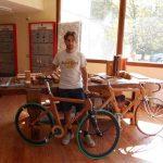 """A tu per tu con Nicolò Cellina, l'architetto cittigliese inventore della bici """"Alfredo"""""""