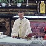 Padre Volodymyr Misterman – Un sorriso aperto e gioioso nella sua nuova casa presso la canonica della chiesa di santa Maria Assunta.