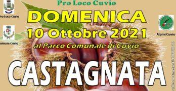 Domenica 10 Ottobre a Cuvio Castagnata 2021 con Mostra Moto d'Epoca