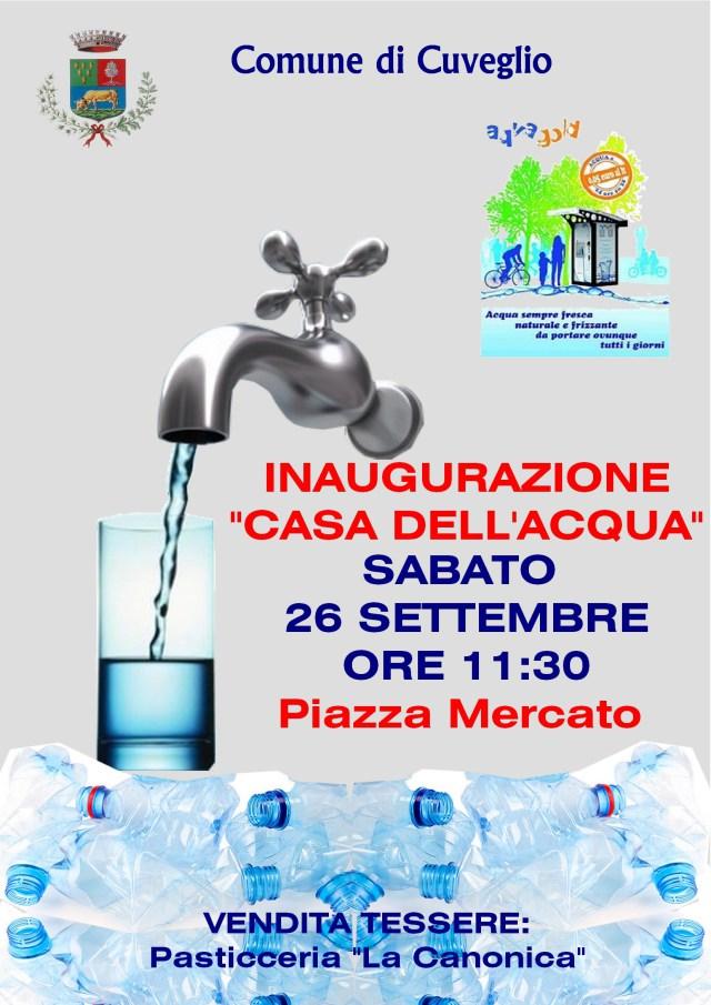 Inaugurazione casa dell 39 acqua cuveglio video vares8 - Giusta pressione dell acqua in casa ...